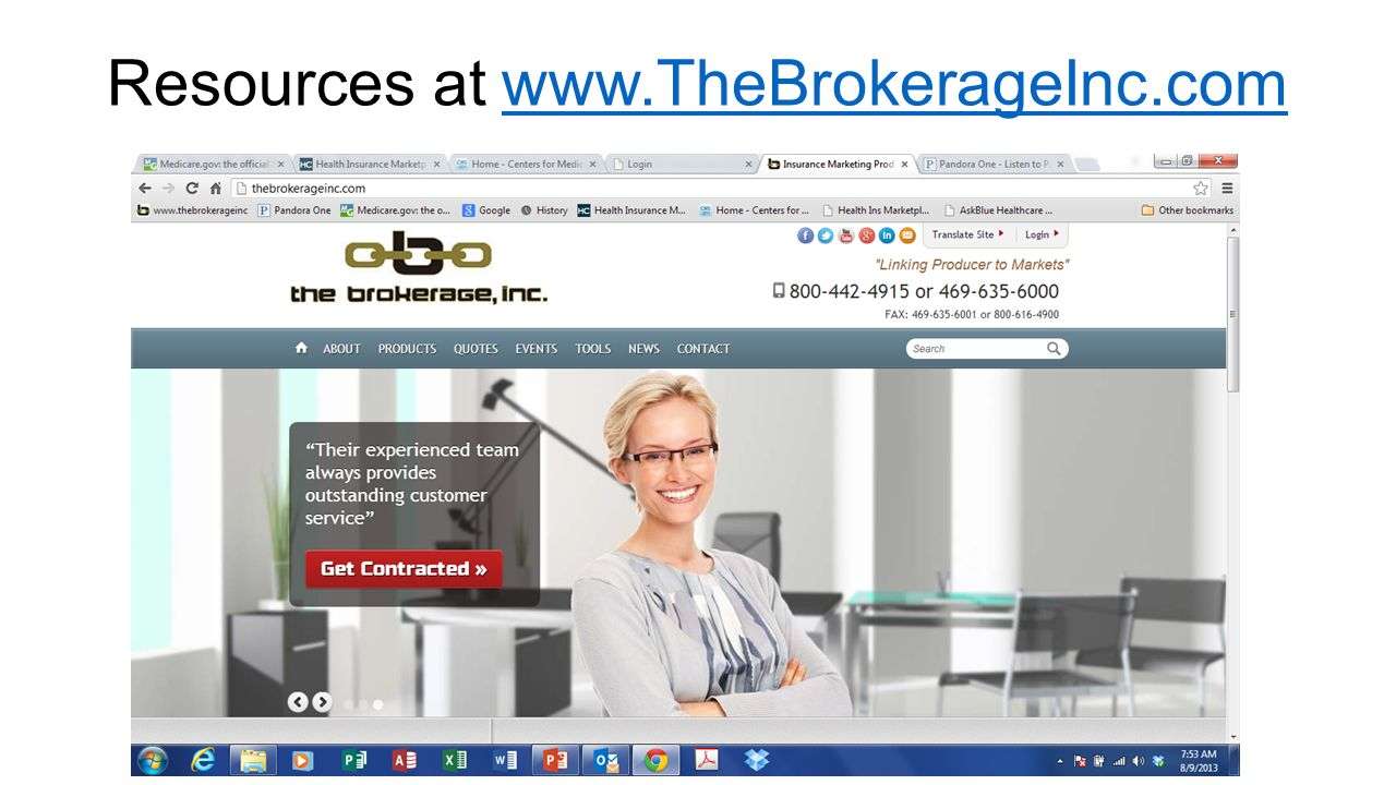 Resources at www.TheBrokerageInc.comwww.TheBrokerageInc.com