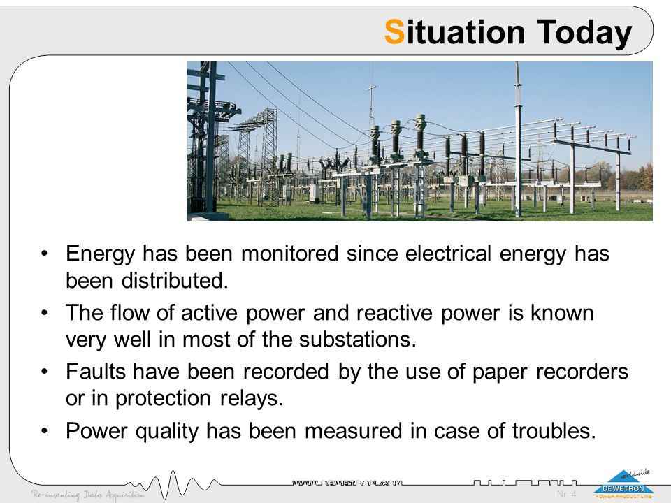 Nr.25 POWER PRODUCT LINE Europe All EC members have a regulatory body.