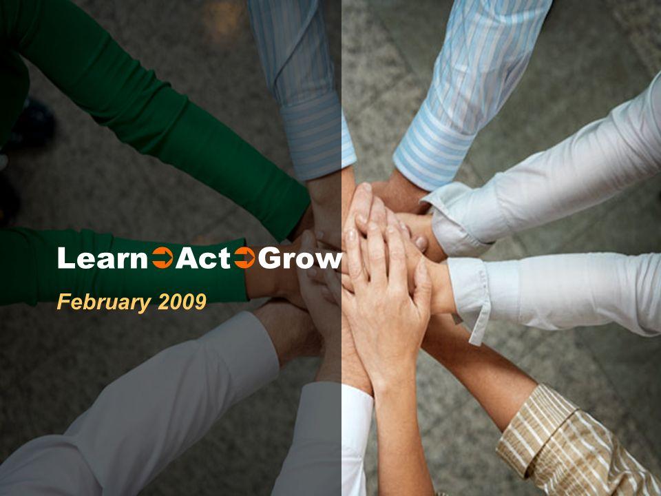 Learn Act Grow February 2009