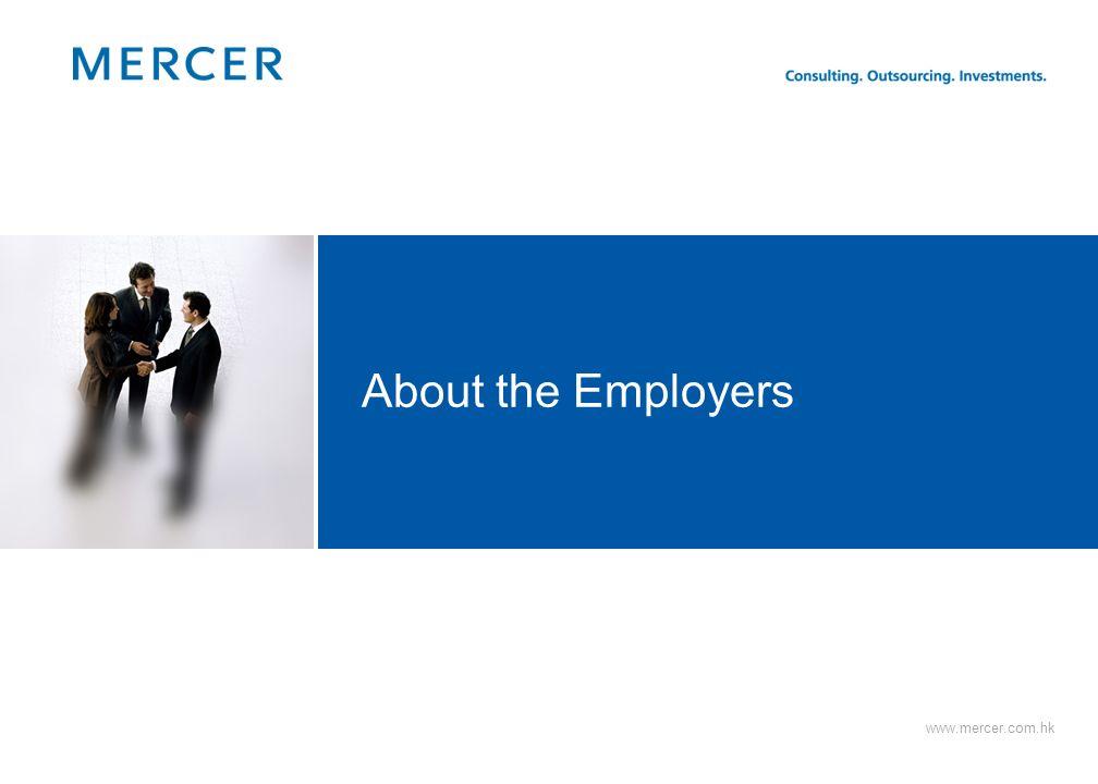 26 Mercer = Enter Workforce Marriage (dual coverage) Parenthood Children leave home Retirement Start Family 20 25 30 35 40 45 50 55 60 Cash Vacation C