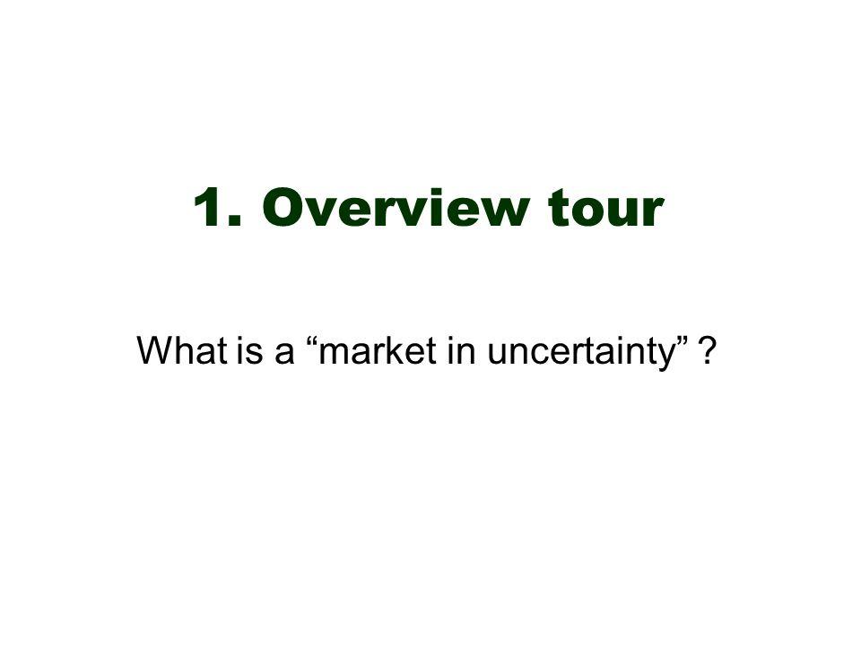 AAAI04 July 2004MP1-8Pennock/Wellman A market in uncertainty Take a random variable, e.g.