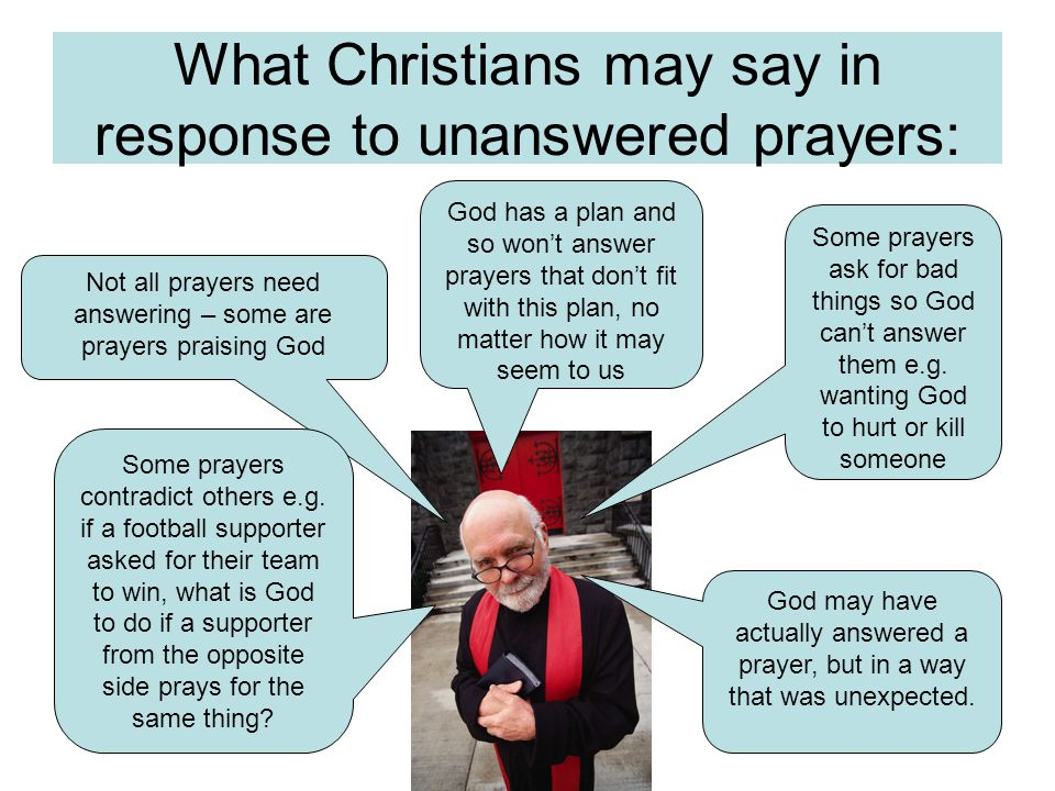Unanswered prayers Not everyones prayers get answered but if God was omnipotent he should have the power to help no matter how big the request is. If