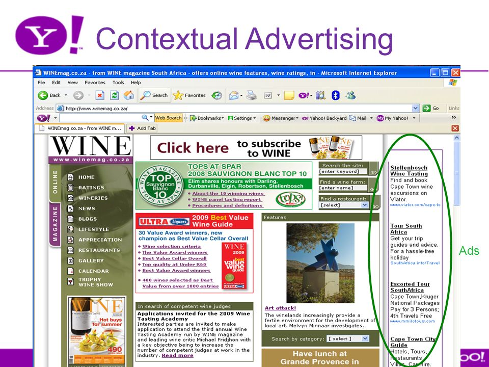 Contextual Advertising Ads