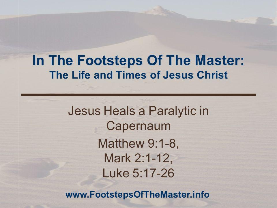 www.FootstepsOfTheMaster.info 12 Plan B Plan B was a roof assault.