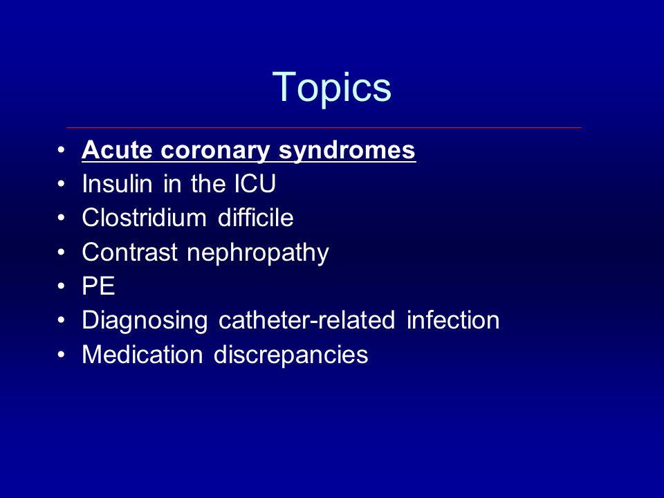 Question #2 Do you initiate intensive insulin therapy in the ICU.