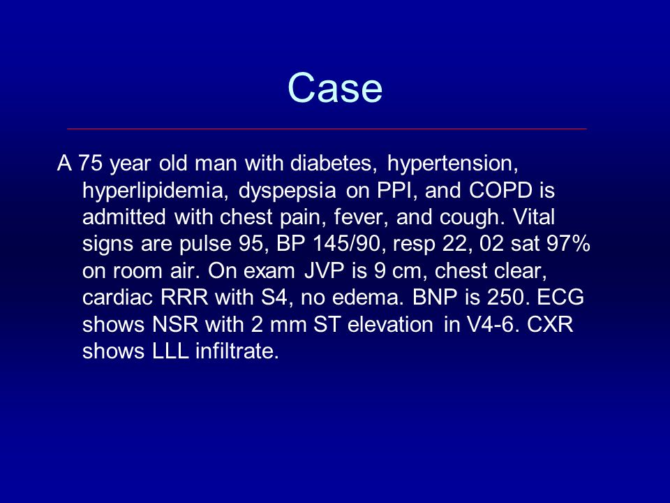 Topics Acute coronary syndromes Insulin in the ICU Clostridium difficile Contrast nephropathy Pulmonary embolism Diagnosing catheter-related infection Medication discrepancies