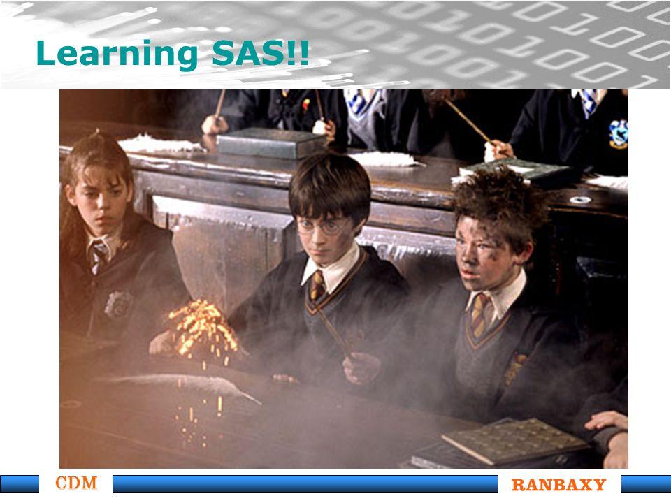 CDM Learning SAS!!