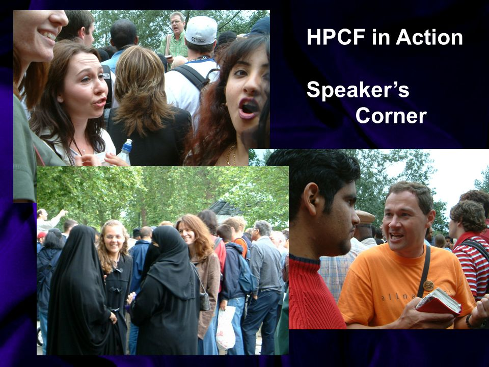 HPCF in Action Speakers Corner