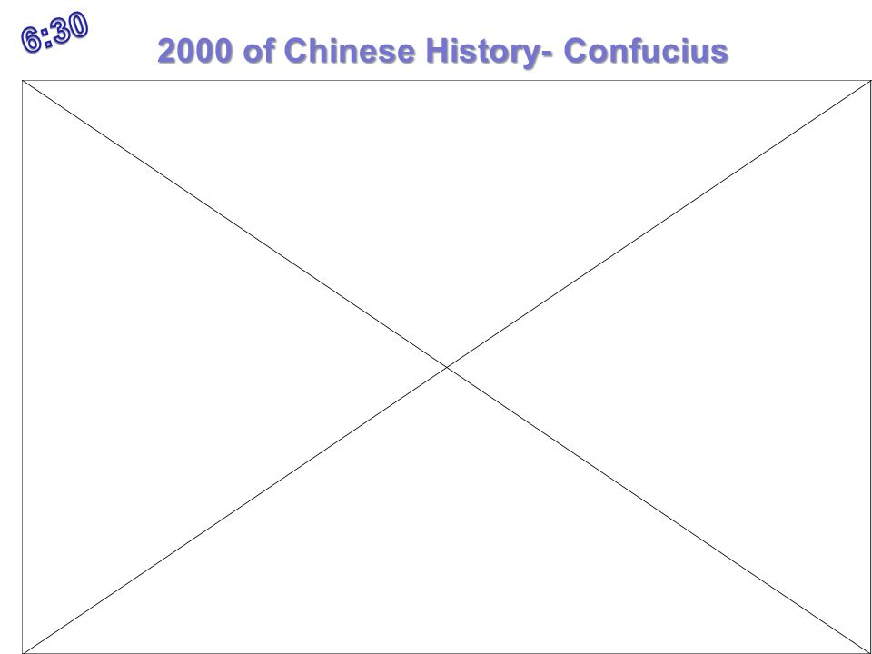 2000 of Chinese History- Confucius