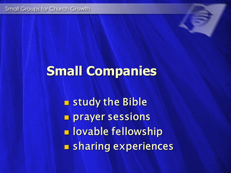 Let small companies assemble in the evening, at noon, or in the early morning to study the Bible. Let them have a season of prayer, that they may be s