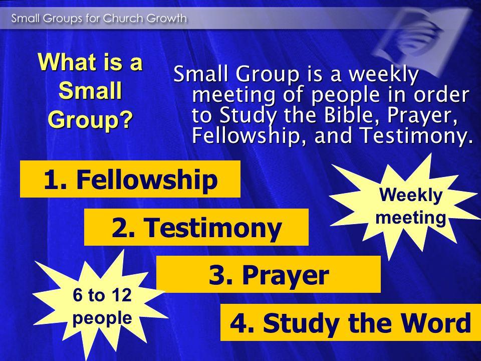 study the Bible study the Bible prayer sessions prayer sessions lovable fellowship lovable fellowship sharing experiences sharing experiences Small Co