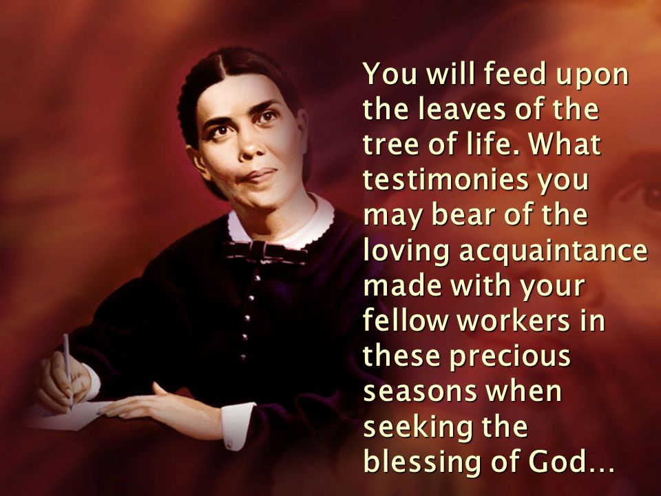 This work Christ wants to have done in the heart of every worker.
