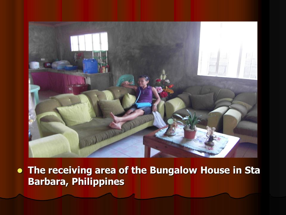 A Bungalow house in Sub-division of Sta Barbara, Pangasinan Philippines : A Bungalow house in Sub-division of Sta Barbara, Pangasinan Philippines : Use as a House Chapel for P&W / Healing ministries.