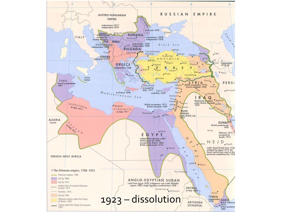 1923 – dissolution