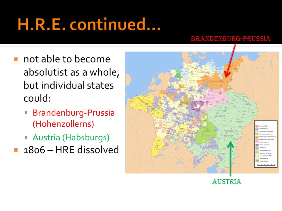 Kingdom of Poland + Grand Duchy of Lithuania republic = elected king + constitutional liberties weak central authority real authority = szlachta (landed aristocracy) & regional diets heterogeneous pop.