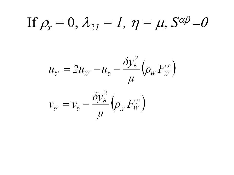 If x = 0, 21 = 1, = S