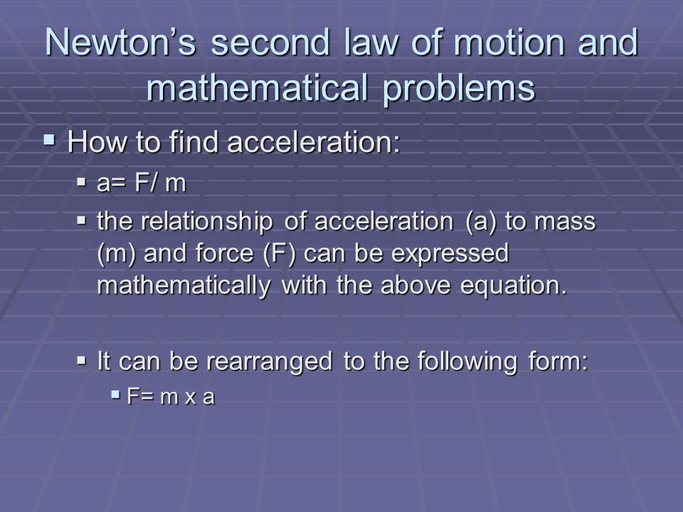 Working It Out Use the equation for work shown to solve the following problem: Use the equation for work shown to solve the following problem: 1.