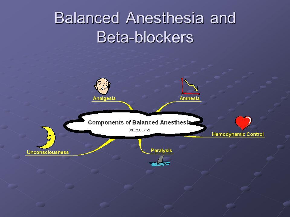 Balanced Anesthesia and Beta-blockers