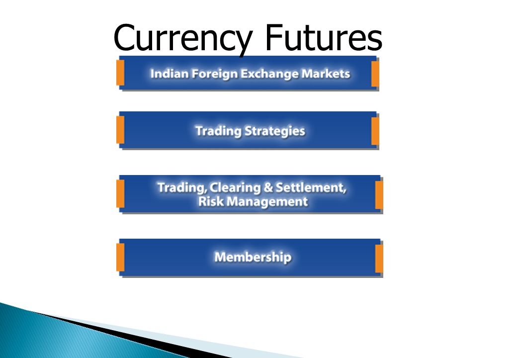 Currency Futures are an exchange-traded forward FX instrument. The volume in currency futures is low compared to interest rate futures. The Pricing mo