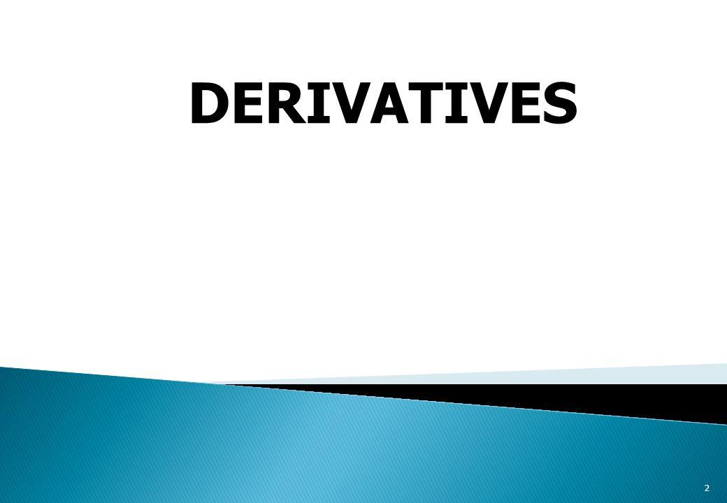 2 DERIVATIVES