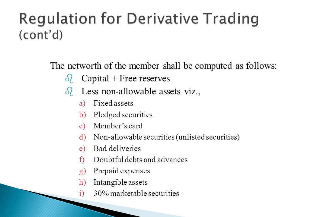 4. The clearing and settlement of derivatives trades shall be through a SEBI approved clearing corporation/house. Clearing corporation/houses complyin