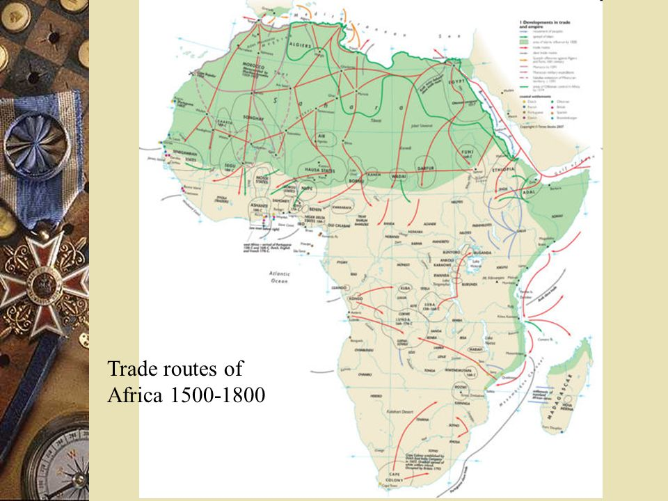 Atlantic Slave Trade Portuguese: Set standard.They established factories along the coast.