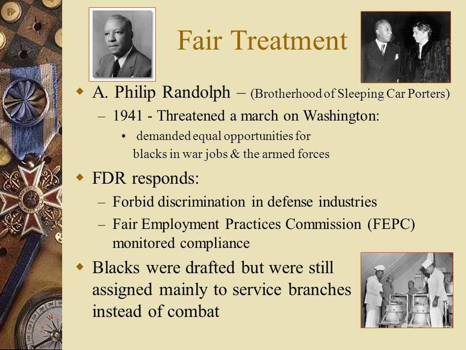 Fair Treatment A.
