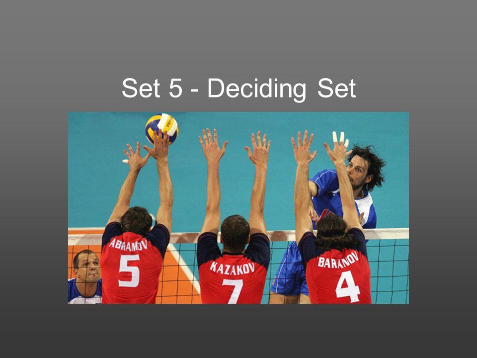 Set 5 - Deciding Set