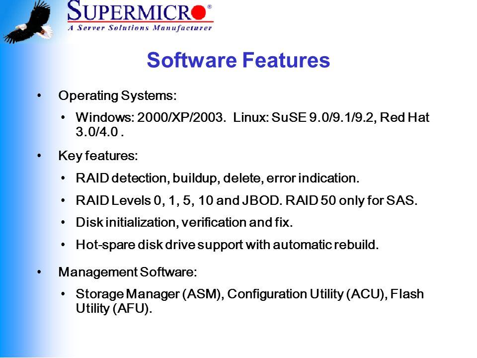 SAF-TE Enclosure Management SCSI Accessed Fault Tolerant Enclosures.