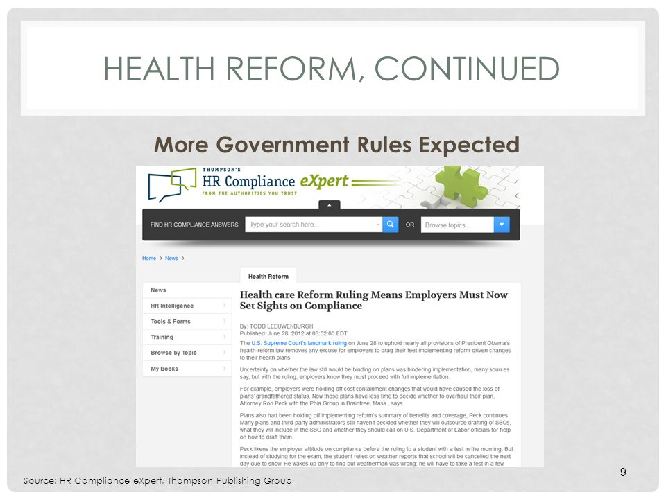 HIPAA PRIVACY Seeing More HHS Enforcement Final HITECH act rules are coming SOON.