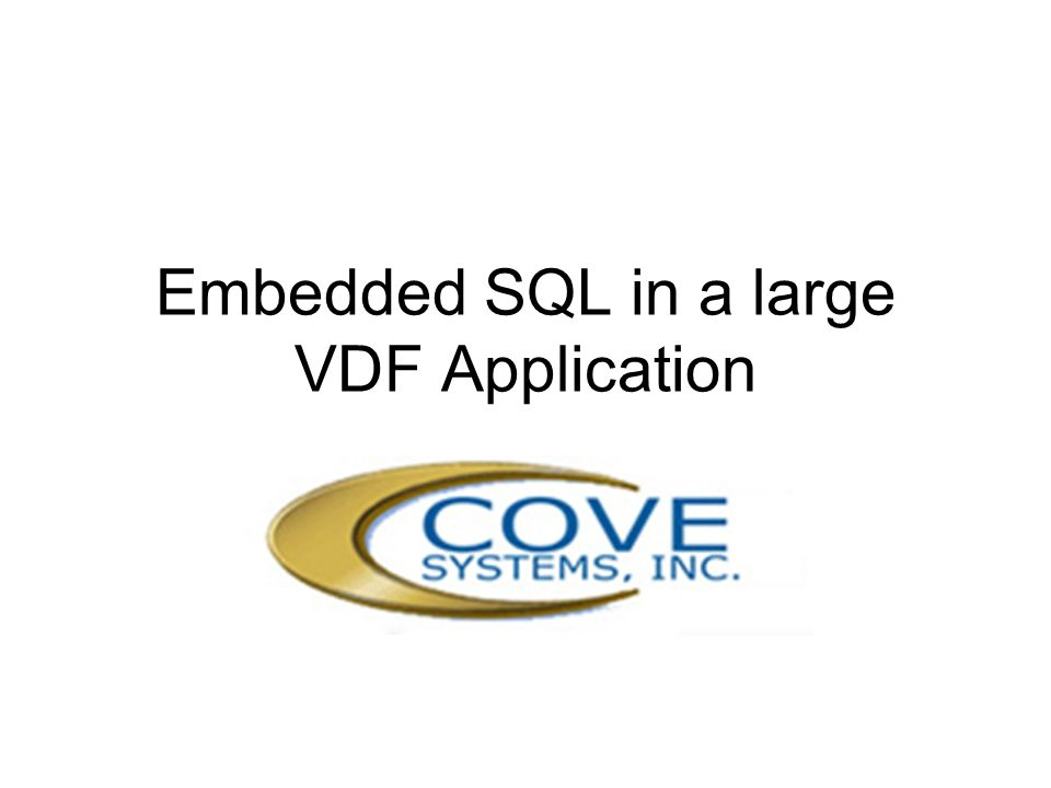 Cove Systems StreamV Successor to Stream II (1985 – 2009) Development Started 2001 Released 2006 Sites with 5 – 250+ users Multi-Currency Multi-Language Multi-Locational Fail-Safe (Logging & Multi-way replication)