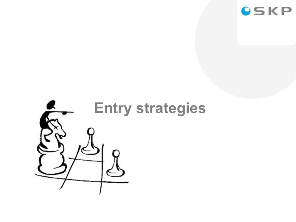 8 Entry strategies
