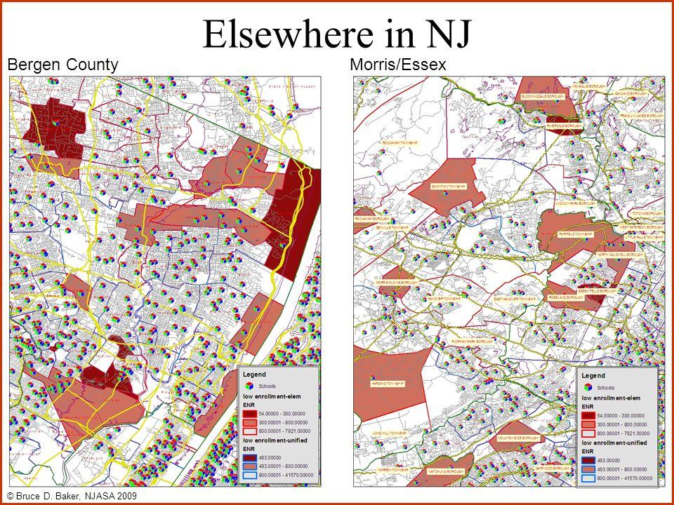 Elsewhere in NJ Bergen CountyMorris/Essex © Bruce D. Baker, NJASA 2009