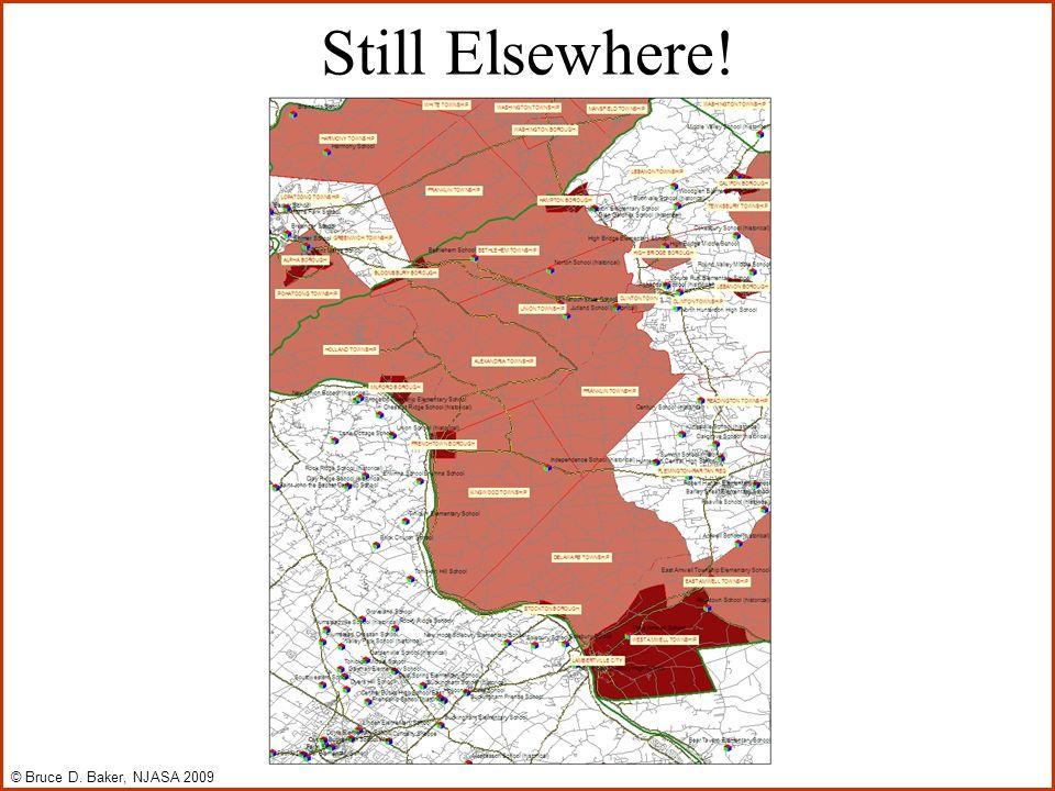 Still Elsewhere! © Bruce D. Baker, NJASA 2009