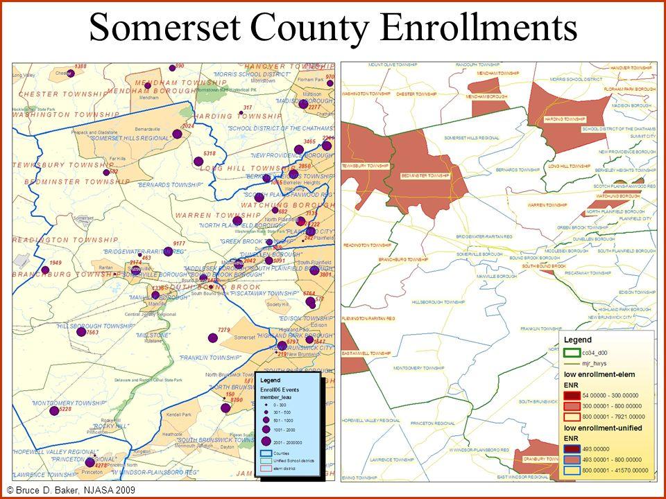 Somerset County Enrollments © Bruce D. Baker, NJASA 2009