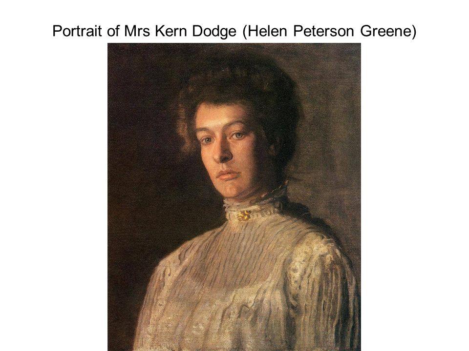 Portrait of Mrs Kern Dodge (Helen Peterson Greene)