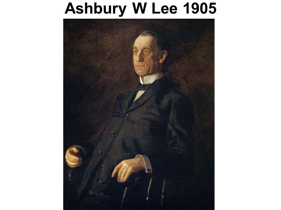 Ashbury W Lee 1905