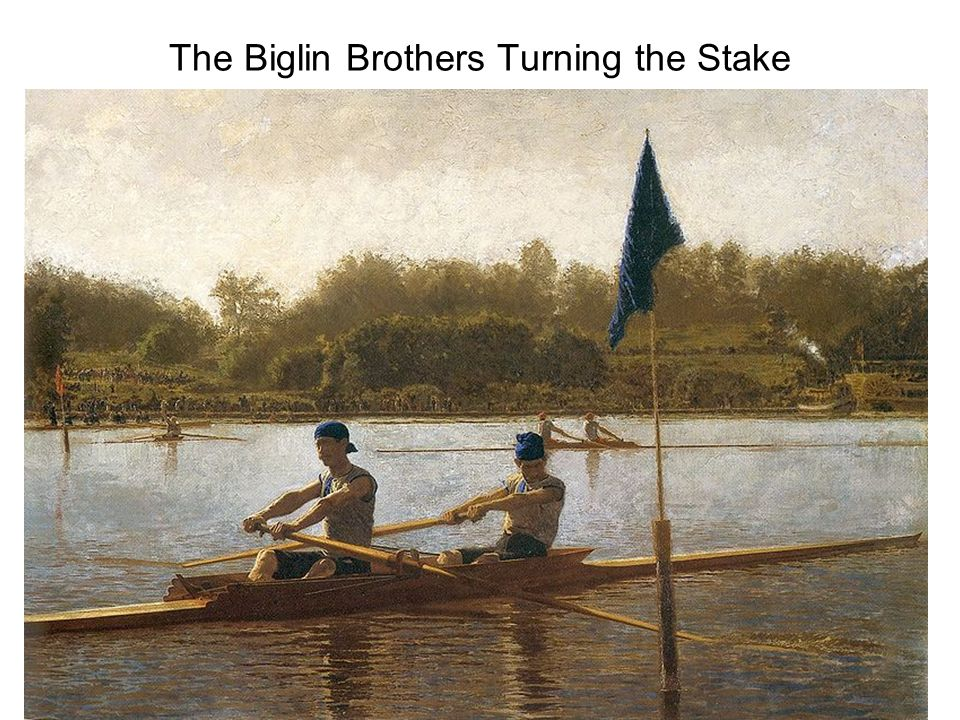 The Biglin Brothers Turning the Stake