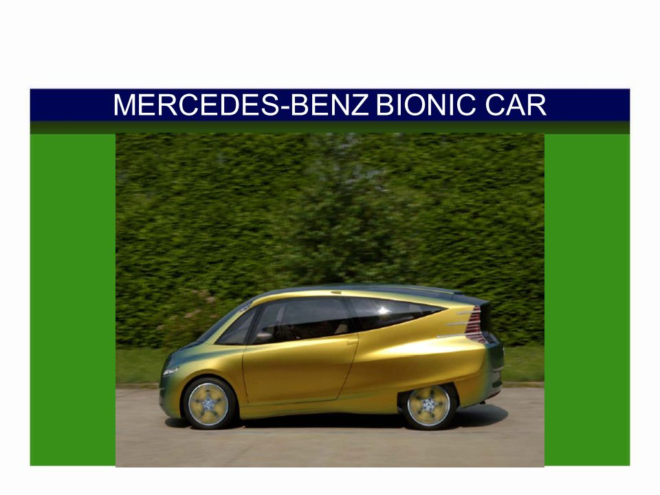 MERCEDES-BENZ BIONIC CAR