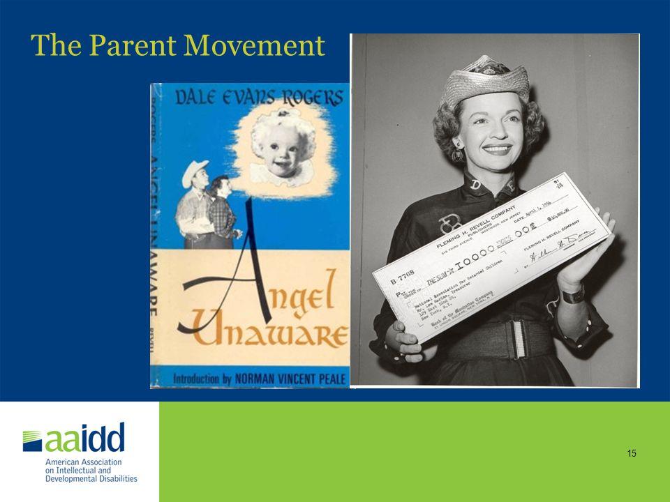 14 The Parent Movement