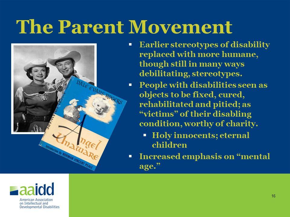 15 The Parent Movement