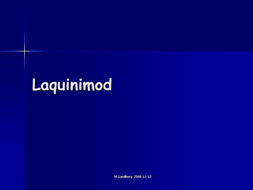 M Sandberg 2008-11-13 Laquinimod