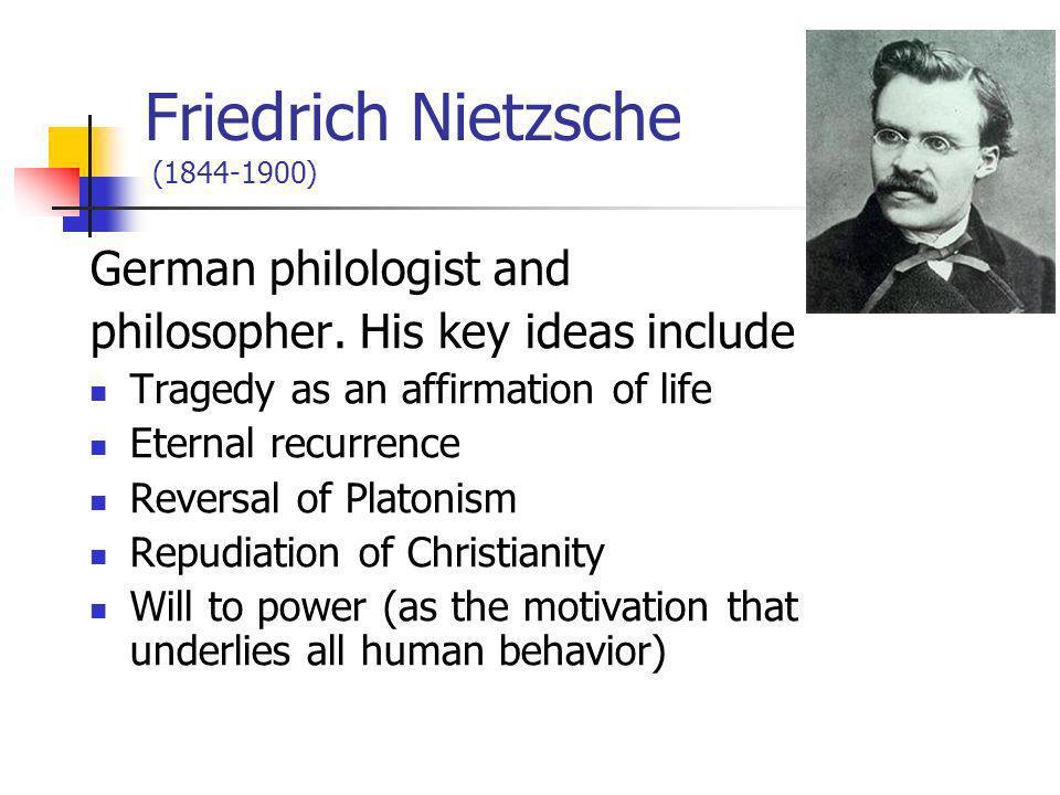 Friedrich Nietzsche (1844-1900) German philologist and philosopher.