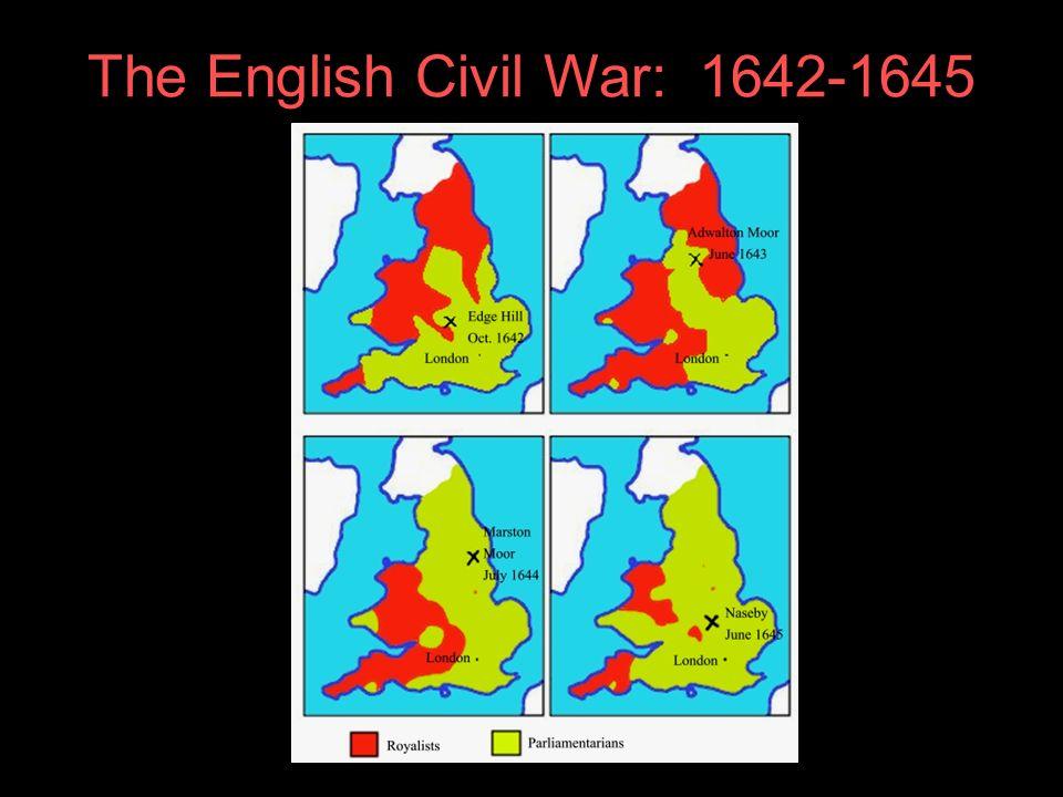 The English Civil War: 1642-1645