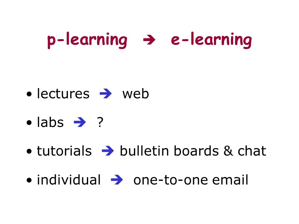 p-learning e-learning lectures web labs .