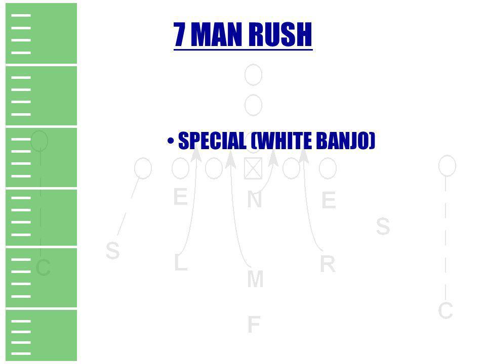 7 MAN RUSH SPECIAL (WHITE BANJO)