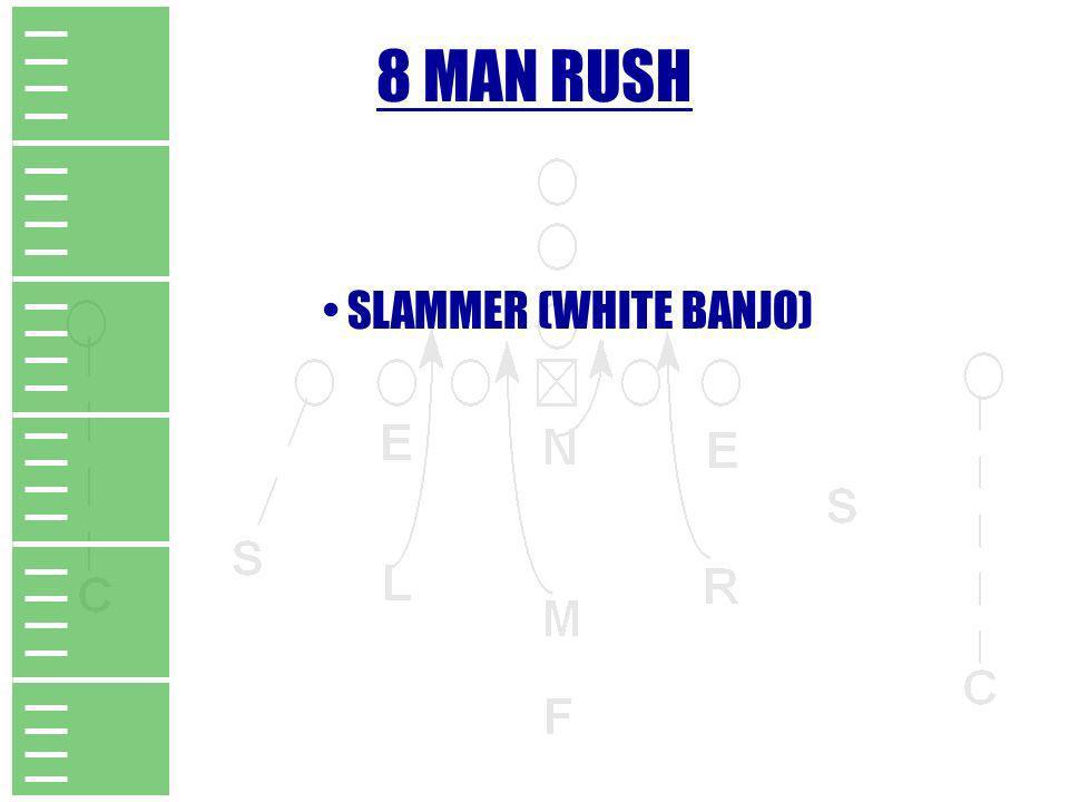 8 MAN RUSH SLAMMER (WHITE BANJO)