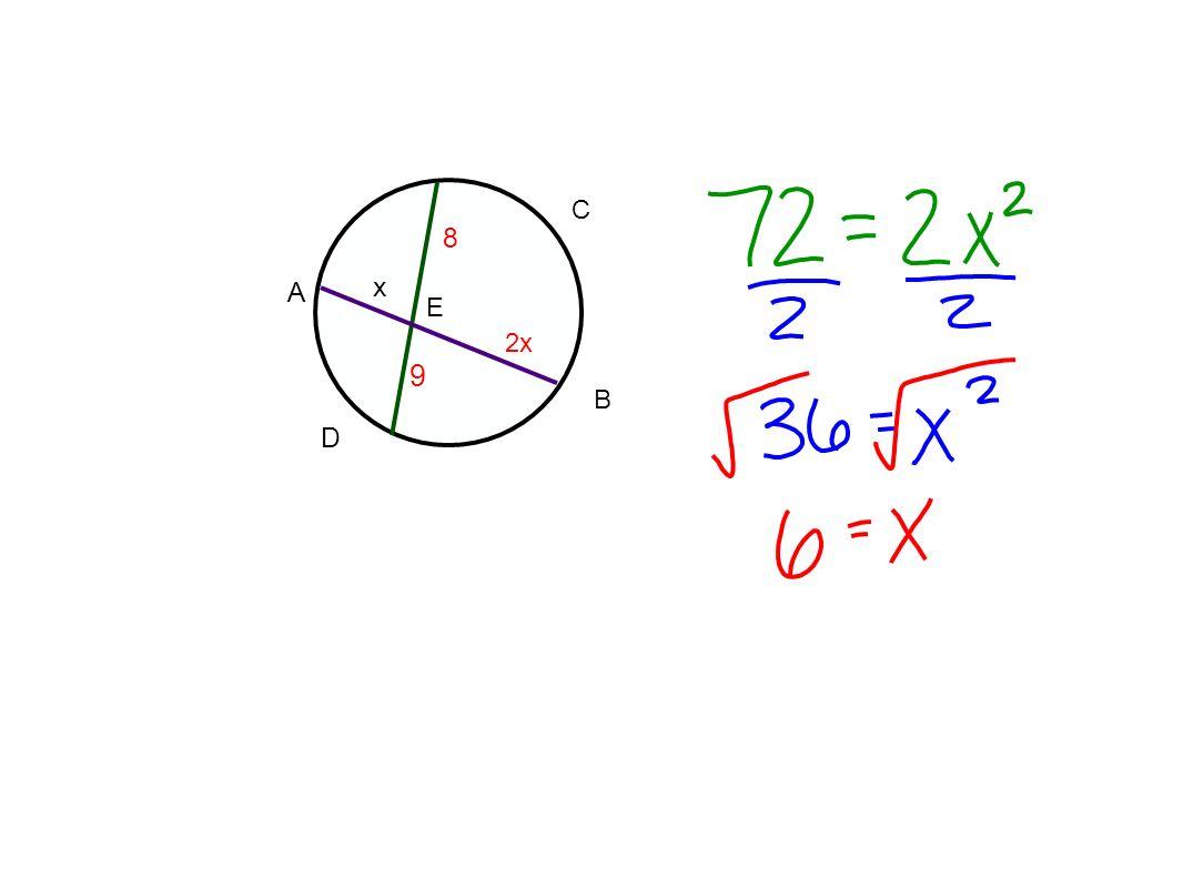 D A C B E 8 9 2x x