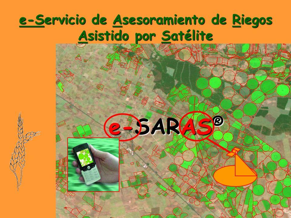 e-Servicio de Asesoramiento de Riegos Asistido por Satélite e-SARAS ®