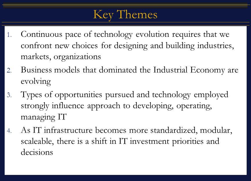 Key Themes 1.